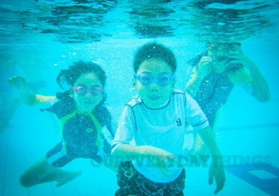 swim underwater photo